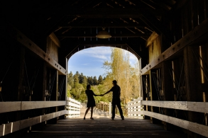 Engaged at Roaring Camp